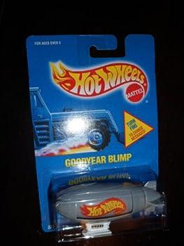 #194 Goodyear Blimp Grey/White Cabin Collectible Collector Car Mattel Hot Wheels
