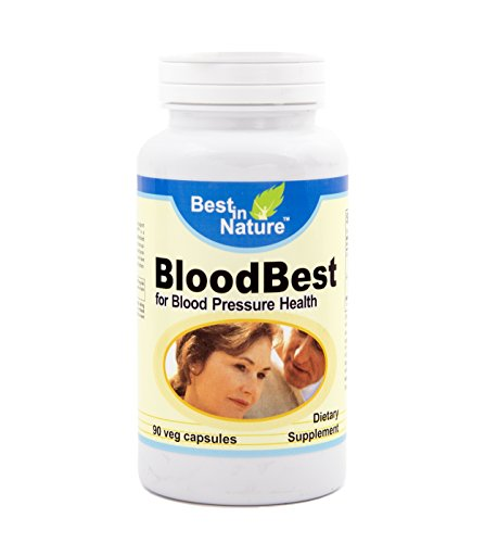 Bloodbest - Helps Support Healthy arterial Function, Maintain Blood Pressure & Healthy Blood Flow with Grape Seed Extract and MegaNatural©-BP™. Supplied by Best in Nature.