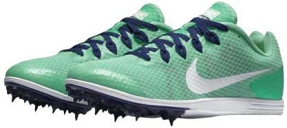 Nike Zoom Rival D 9 Women's Running Track Shoes 806560-314 Size 10 Green