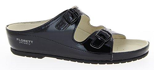 Florett Damenschuhe 93673-60 Damen Pantoletten, Hausschuhe, Hauspantoffeln schwarz, EU 39