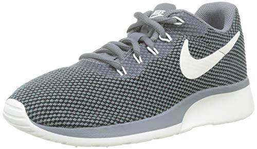 NIKE WOMENS WMNS TANJUN RACER COOL GREY SAIL BLACK SIZE 6