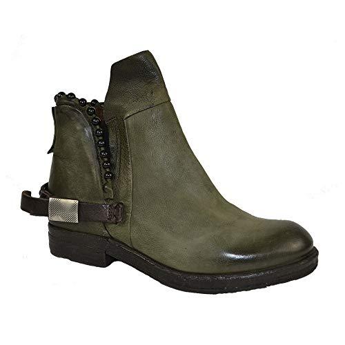 A.S.98 Airstep Damen Stiefelette Leder Stiefel Ankle Schuh : 36 Schuhgröße 36