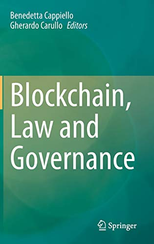 Blockchain, Law and Governance