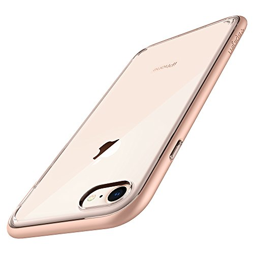 Spigen - Carcasa para iPhone 8, Funda iPhone 7 Neo Hybrid Crystal 2 diseñada para iPhone 7/8 - Blush Gold