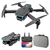 JeeKoudy Mini Drone avec caméra 4K Pliable WiFi FPV Drone avec caméra HD 4K pour Adultes, quadricoptère RC avec Bascule 3D, Mode sans tête, Maintien d'altitude, Un Retour à la clé