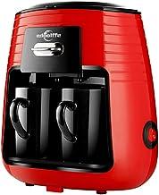 Edoolffe Mini Two Cup Household American Drip Coffee Maker Italian Semi-automatic Portable Espresso Brewing Tea Coffee