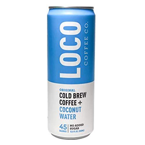 Loco Coco, Coffee Cold Brew Coconut Water, 12 Fl Oz