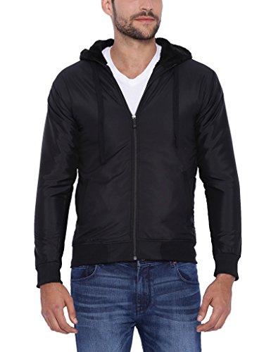 Campus Sutra Men Black Jacket