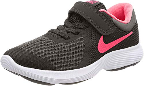Nike Unisex-Kinder Revolution 4 (PSV) Sneaker, Mehrfarbig (Indigo 001), 32 EU