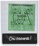 ZIGONIRIC 12437 Porte Vignette Assurance Mer