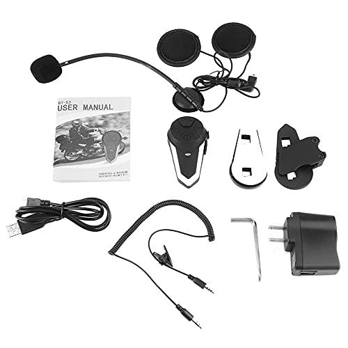 Fydun Intercomunicador inalámbrico para motocicleta Auriculares Cascos de repuesto para motocicleta BT Interphone Accesorio universal