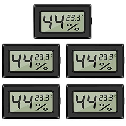 EEEKit EEEKit 5-Pack LCD Digital Temperatur-Feuchtigkeitsmesser Bild
