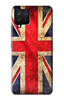JP2303A12 英国ヴィンテージ国旗 British UK Vintage Flag Samsung Galaxy A12 ケース