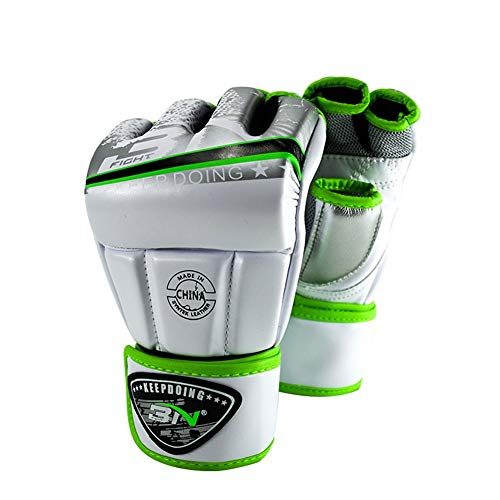 AOOCEEH Guantes Boxeo Mujer Guantes De Boxeo Guantes Boxeo Guantes Boxeo Hombre Guantes De Boxeo Guantes De Boxeo Hombre Desodorante Guantes Boxeo Guantes De Boxeo Mujer White,m