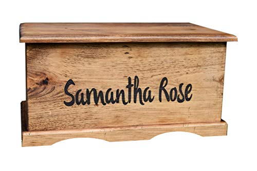 Laser Engraved Personalized Kids Toy Box...
