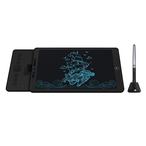 HUION Inspiroy Ink H320M Tableta Gráfica, Tableta de Diseño de Doble Propósito y Tableta de Escritura LCD, Compatible con OS Android/Mac/Windows para Aprendizaje Remoto y Trabajo Desde Casa