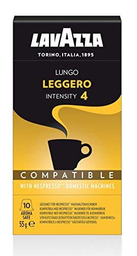 Lavazza Cápsulas de Café Compatibles con Nespresso, Lungo