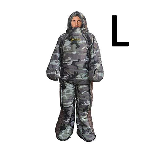 NBRR Schlafsack, humanoider Schlafsack für Wandern, Camping, Mumienschlafsack zum...