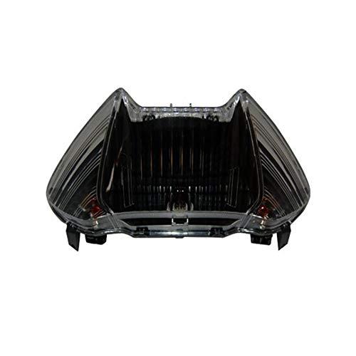 one by Camamoto faro fanale stop posteriore (cod 77204430FN completo omologato colore nero/fumee compatibile con yamaha t-max 500 anno dal 2008 al 2011)