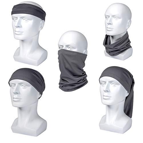 Sun UV Halloween Protection Neck Gaiter Washable Reusable Magic Face Cover Dust Wind Bandana Balaclava for Fishing Hiking