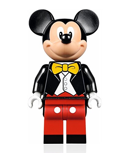 LEGO Disney Minifigure - Mickey Mouse (w/ Tuxedo Jacket) from Disney Castle 71040