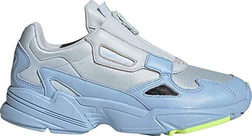 adidas Mujer Falcon Zip W Zapatillas Azul, 41 1/3