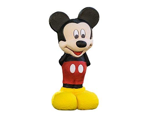 Disney Piñata de Carton 3D Mickey Mouse, Color Negro/Rojo/Amarillo