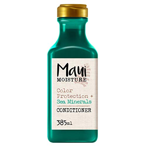 Maui Moisture, Acondicionador Protección del Color y Minerales Marinos, pelo Teñido, 385 ml