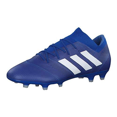 adidas Herren Nemeziz 18.2 Fg Fußballschuhe, Blau (Fooblu/Ftwbla/Fooblu 001), 39 1/3 EU