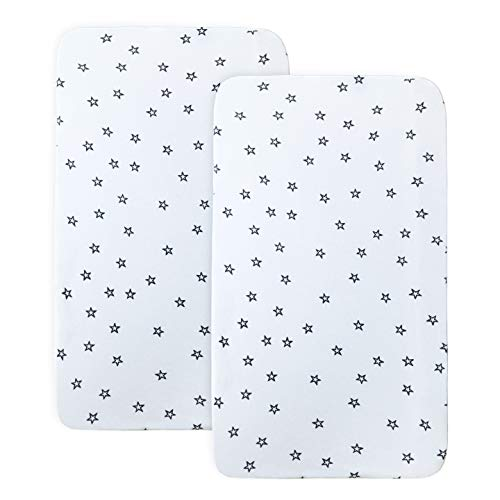 Milliard Two Pack Sheets for Bedside Bassinet