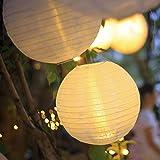 Hellum LED Lampion Lichterkette außen