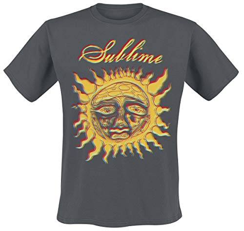 Sublime Yellow Sun T-Shirt grau L