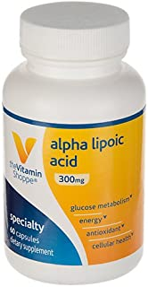 Alpha Lipoic Acid 300mg, Natural Antioxidant Formula to Support Glucose Metabolism Promotes Healthy Blood Sugar, ALA Fight...