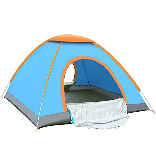 Tents Abri Solaire escamotable Portable Installation Facile Portable Étanche Coupe-Vent Anti-UV 2/3/4 Personne pour Voyages/Plage/Festivals de Musique en Plein air