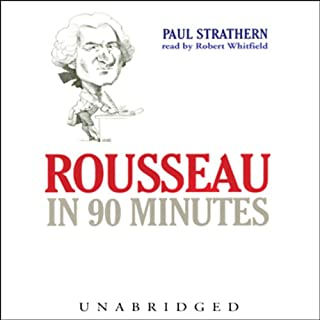 Rousseau in 90 Minutes audiobook cover art