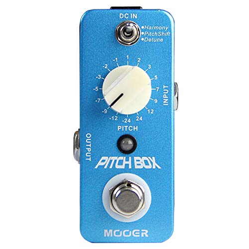 CAMOLA Mooer Pitch Box Guitar Harmonizer Pedal Harmony Pitch Shifter Detune For Electric Guitar Bass True Bypass