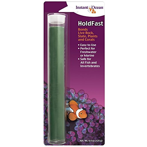 Instant Ocean HoldFast Epoxy Stick 4.4 Ounces, Fish Safe (HF-1)
