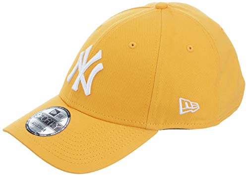 New Era Gorra de béisbol 9FORTY MLB Essential York Yankees Amarillo