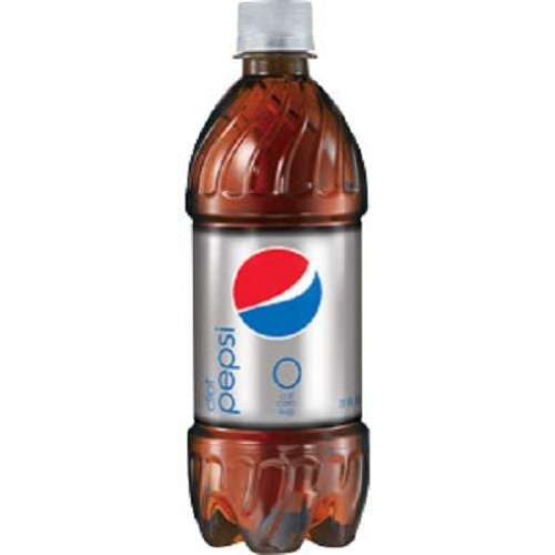 Diet Pepsi Cola, 20-Ounce Containers (Pack of 24)