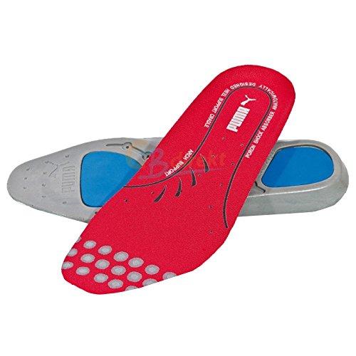 Puma Safety Einlegesohlen evercushion Plus footbed 20.451.0 wechselbares Fußbett für Sicherheitsschuhe, Größe 43, 47-204510-43