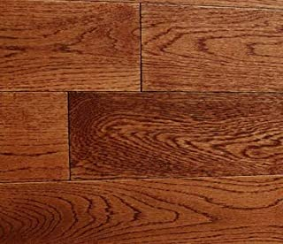 Prefinished Solid Hardwood White American Oak Wood Flooring. 3x5/8