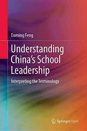 Couverture du livre Understanding China's School Leadership: Interpreting the Terminology (English Edition)
