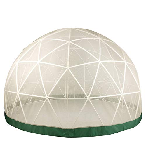VEVOR Garten Bubble Zelt 9,5 x 6 Fuß Pavillon Polyester Kuppel Zelt Mesh Zelt