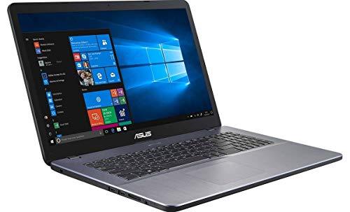 ASUS Vivobook 17 X705MA-BX179T Intel N5000 17.3pcs HD+ 4Go 256Go SSD UHD Graphics Sacoche Souris W10H Gris 2a