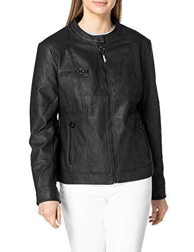 Cecil Damen 211306 PU Jacket Kunstlederjacke, Black, M