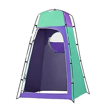 Lewpox Tente à Rire, Tente De Toilette Portable, Apparaissent, éTanche, Tente Sombre De Camping, pour Camping, Plage, Mobile, Intimité ExtéRieure