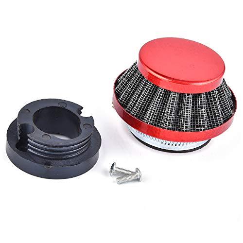 Kit de actualización de filtro de aire de 42 mm, de aluminio, para minimoto, quad, 47 cc, 49 cc