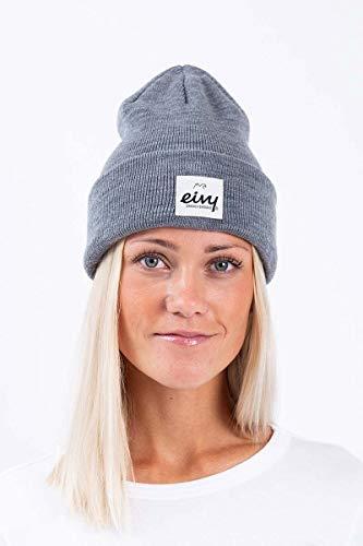 EIVY Damen Beanie Beanie - Watcher'21 Snowboardmütze Skimütze Mütze, Grey Melange