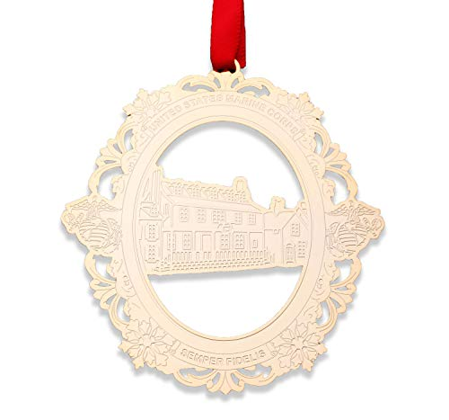 USMC Tun Tavern Christmas Ornament - US Marine Corps Tree Decoration - Designed By MARINES FOR MARINES - Officially Licensed