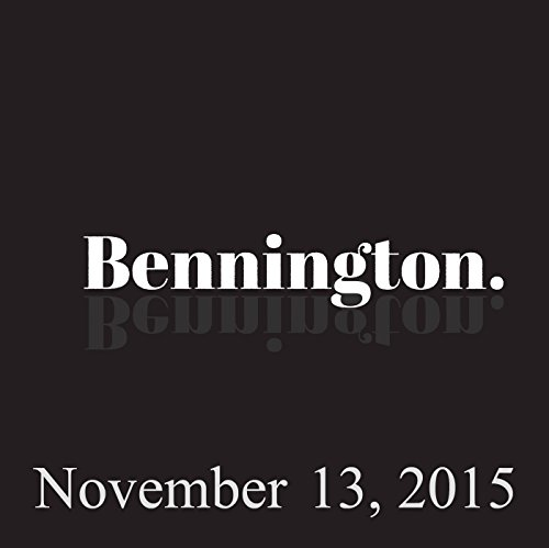 Bennington, Jamie Lissow, November 13, 2015 audiobook cover art